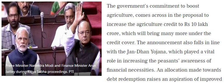 """Union Budget 2017 keeps with the spirit of Modi's 'sabka saath, sabka vikas' """"If we look closely at the Union Budget 2017-18 in a straightforward manner, we will realise that it was designed around Prime Minister Narendra Modi's 2014 slogan, 'sabka saath, sabka vikas'. Get Narendra Modi's & BJP's latest news and updates with - http://nm4.in/dnldapp http://www.narendramodi.in/downloadapp. Download Now."""""""