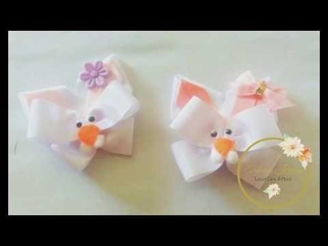 Acessório para páscoa 2: Bico de pato de coelhinho by  Tatiana Karina DIY/ Tutorial/ PAP - YouTube