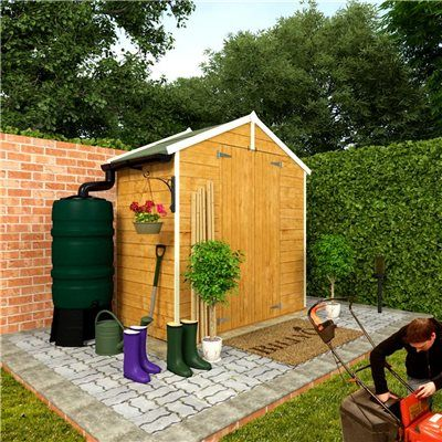 The BillyOh 4000 Windowless Range - Cheap Wooden Sheds - Garden Buildings Direct