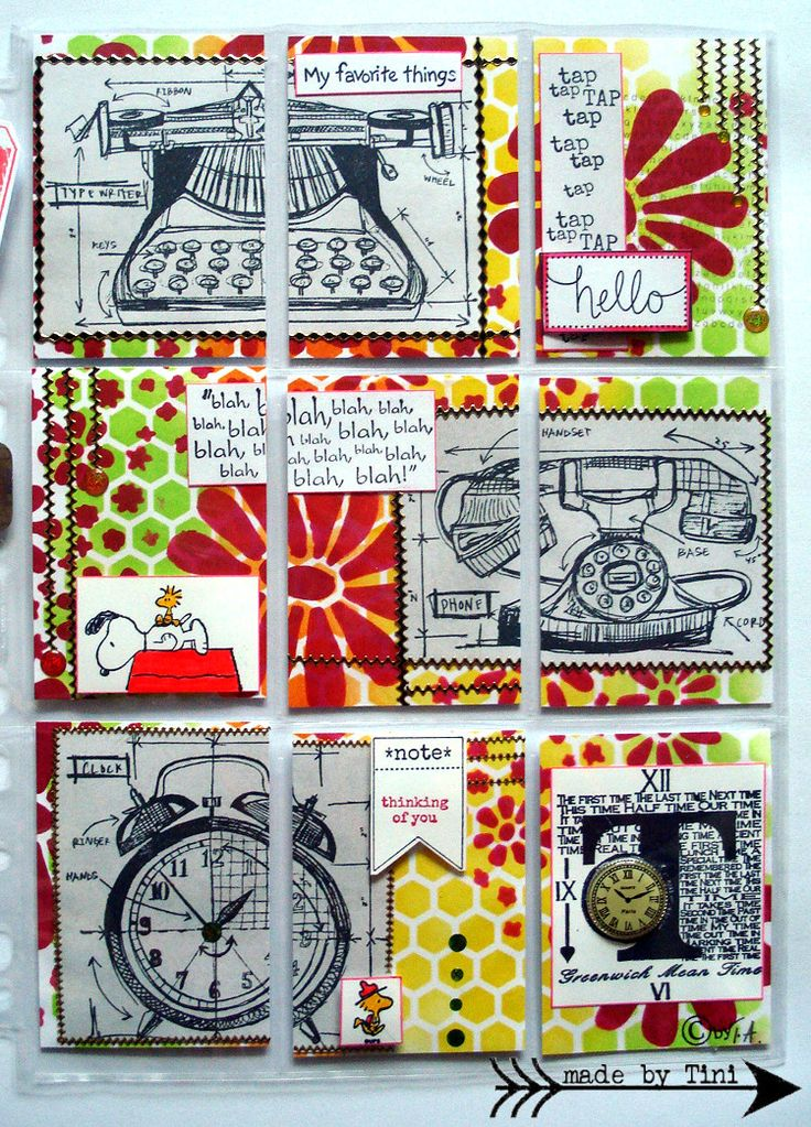 "My Pocket Letters ""Tap Tap Tap"" @ArtsbyTini"