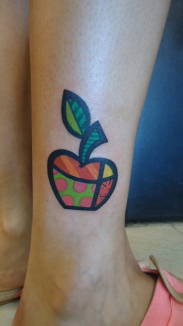Romero Britto - Tattoo Scrau by scrau1, via Flickr