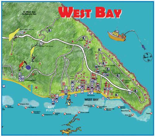 West Bay | Roatan Hondorus | Pinterest | Bays, Roatan and Maps