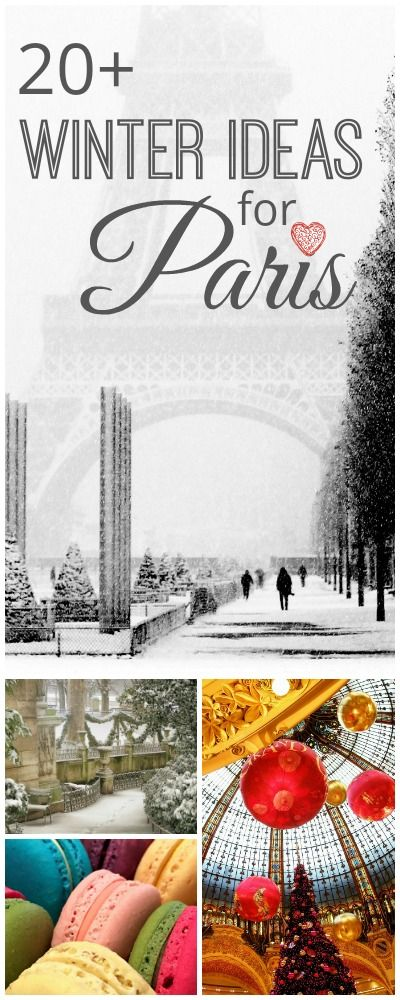 23 ideas on how to spent a great winter city trip in Paris. Sightseeing and off beat local tips to enjoy Paris despite rain or cold.