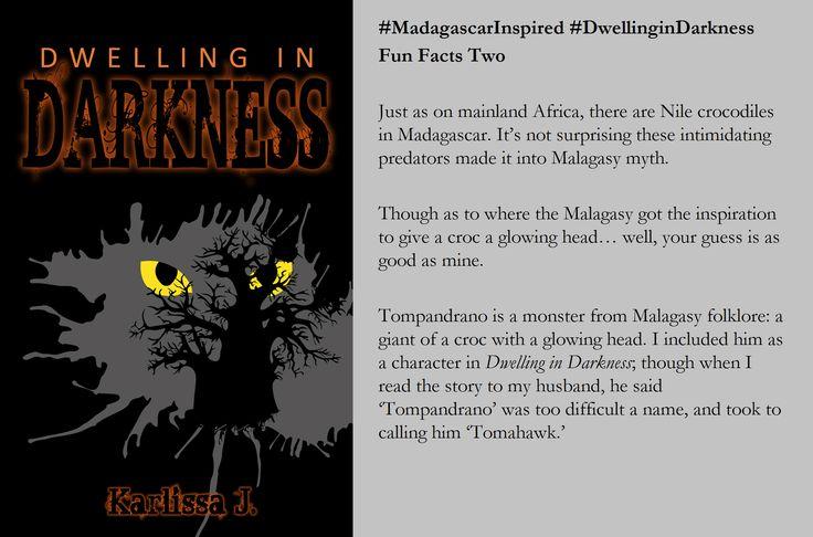 Fun Fact 2! #MadagascarInspired #DwellinginDarkness #LemurBook