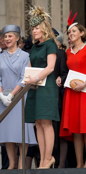LONDON, ENGLAND - JUNE 10: Autumn Phillips attends a National Service of Thanksgiving as part of the 90th birthday celebrations for The Queen at St Paul's Cathedral on June 10, 2016 in London, England. (Photo by Mark Cuthbert/UK Press via Getty Images)