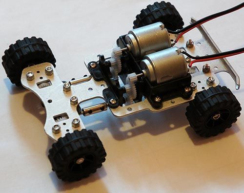 Simple RC Car for Beginners  Android Control Over