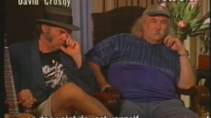 Crosby,Stills,Nash and Young ~ 1999 ~ Interview Nova TV.