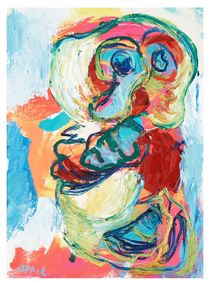Karel Appel - Blue Boy, 1964
