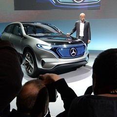 Mercedes Benz holds press conference regarding finances in Stuttgart, Germany