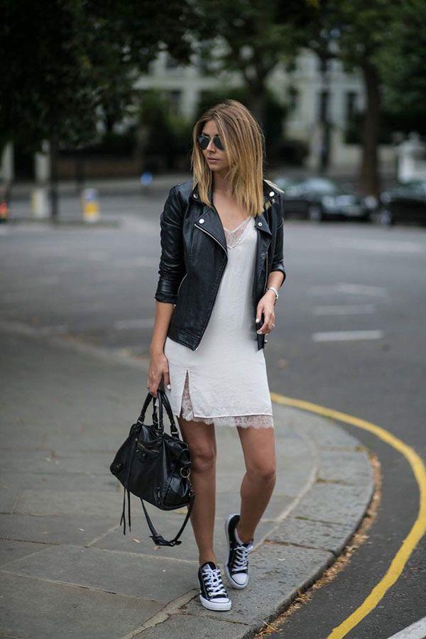 vestiti converse donna