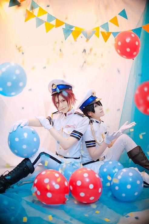 Rin and Haru - Free Iwatobi Swim Club