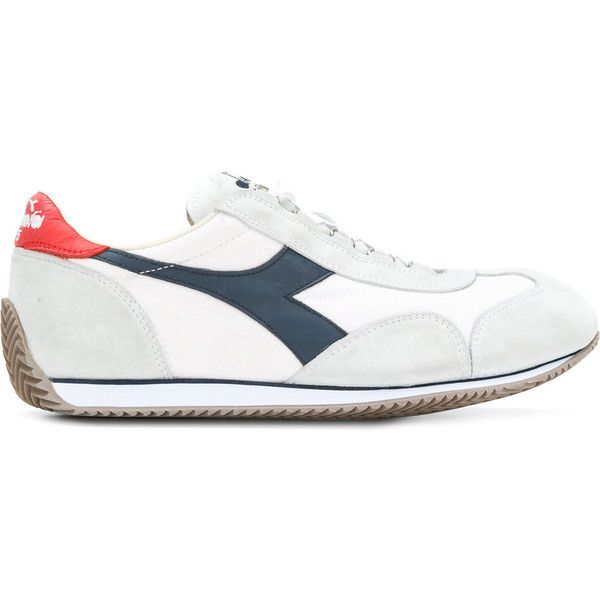 47fd911adf Diadora Equipe Stone Wash 12 Sneakers ($220) ❤ liked on Polyvore ...