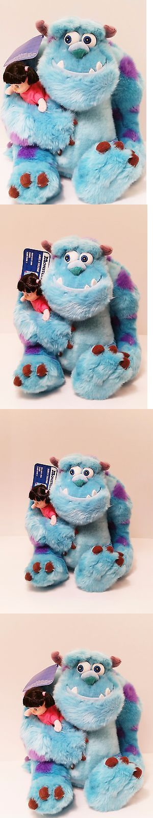 Monsters Inc 44038: James P. Sullivan With Boo Doll, 2001 Monsters Inc. Plush Mint Condition! -> BUY IT NOW ONLY: $69.99 on eBay!