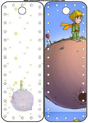 Printable bookmark Le Petit Prince