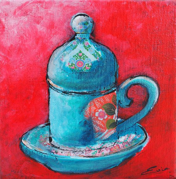 Bekijk dit items in mijn Etsy shop https://www.etsy.com/listing/267471855/turkish-coffeecup