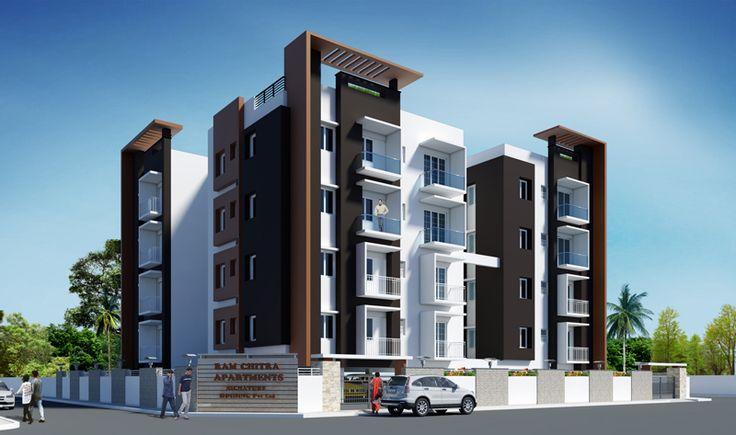 Studio Apartment Elevations Ideas Design 512650 Decorating