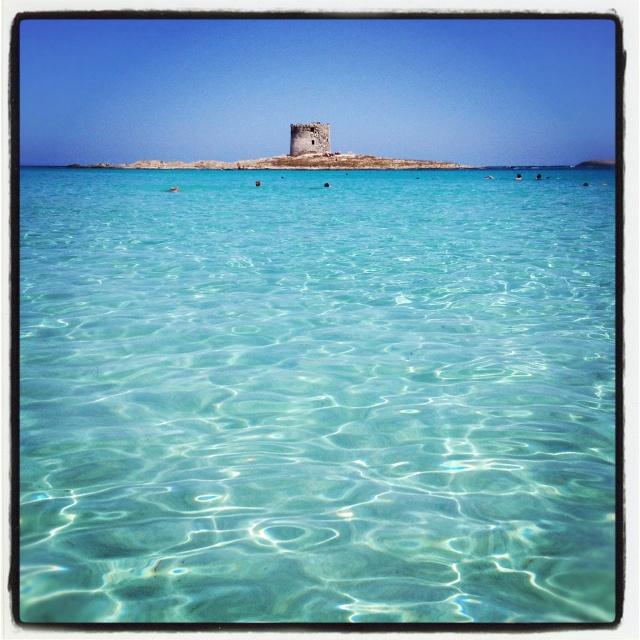 Stintino Beach, Sardinien