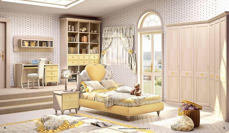 Kompletní vybavení dětského pokoje od Lanpas, více na: http://www.saloncardinal.com/galerie-lanpas-74c