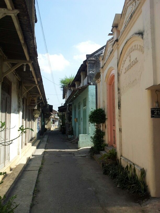 Alley ways in Solo,Indonesia