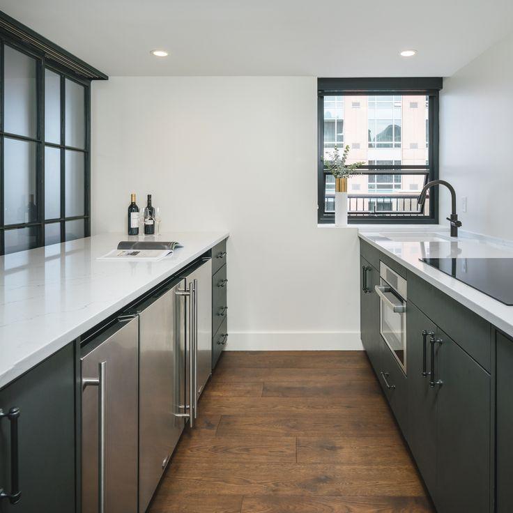 project portfolio  contemporary style kitchen engineered