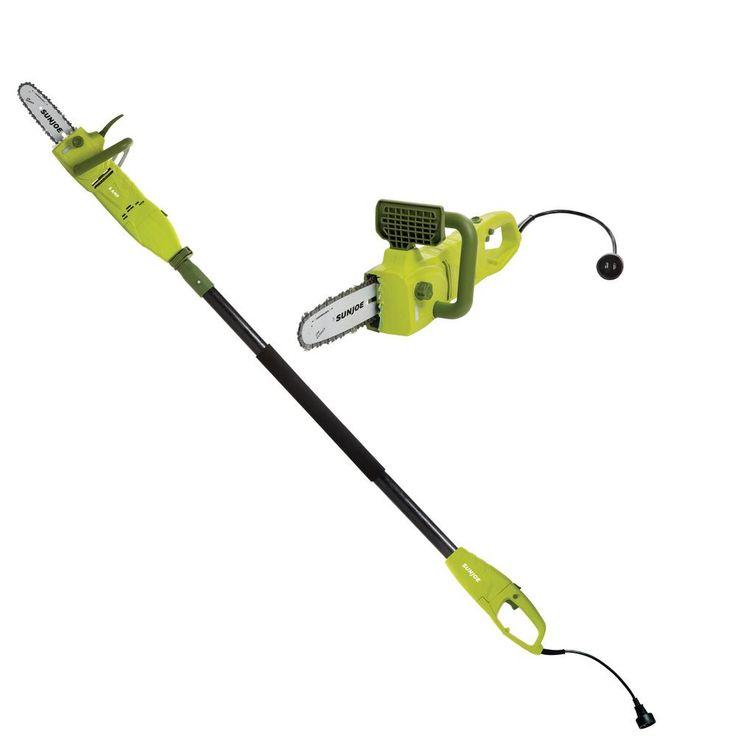 Sun Joe 8 in. 7.5 Amp Electric Pole Chain Saw