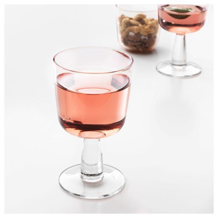 IKEA INTAGANDE wine glass