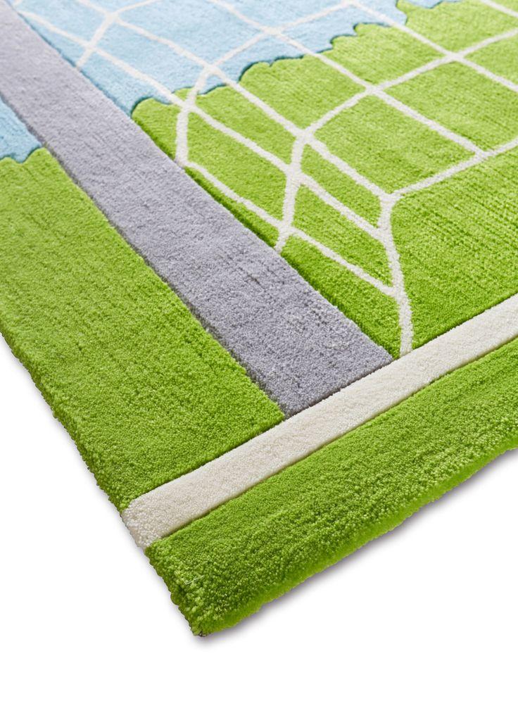 Vloerkleed «Voetbal» groen nu in de onlineshop van bonprix.nl vanaf ? 19.99 bestellen. Handgetuft vloerkleed met voetbalmotief, bijzonder contourreliëf. ...