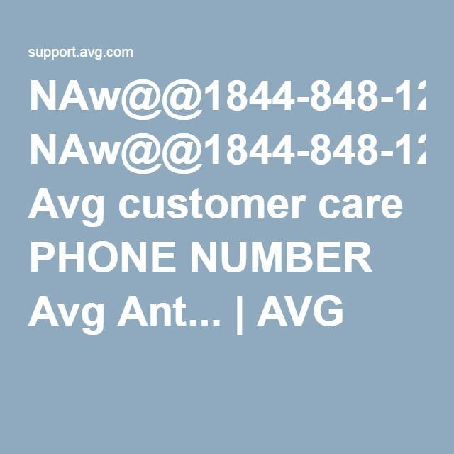 NAw@@1844-848-1262 Avg customer care PHONE NUMBER Avg Ant... | AVG