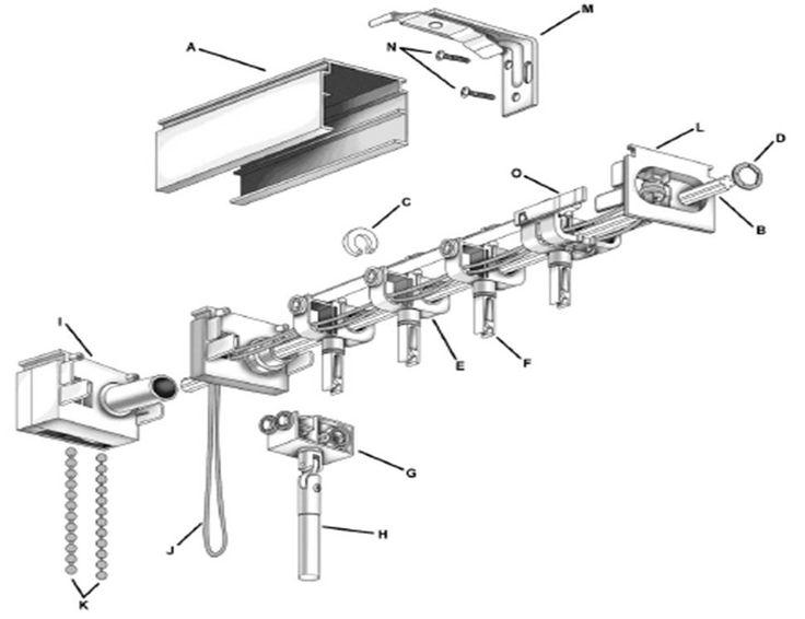 Interesting Vertical Blind Parts