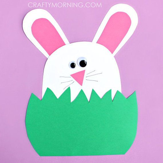 12 Simple Easter Crafts For Toddlers Construction Paper Crafts