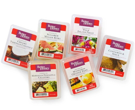 BHG's Fruit and Spice Wax Cube collection, available only at Walmart #BHGPin2Win http://on.fb.me/11ST3V3