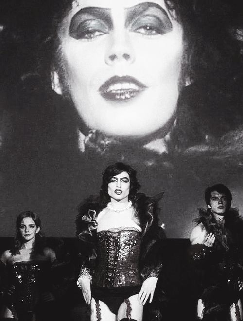 My 2 favorite things: The Perks of Being a Wallflower, and The Rocky Horror Picture Show! #RockyHorror