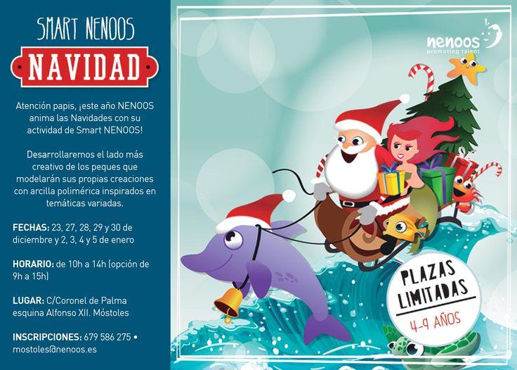 Programa de Navidad Smart Nenoos en Móstoles, actividades extraescolares mostoles, centros educativos mostoles, desarrollo inteligencia mostoles