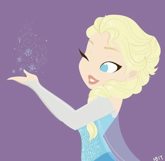 Hollie Ballard Art | Elsa | Frozen | @Dgiiirls