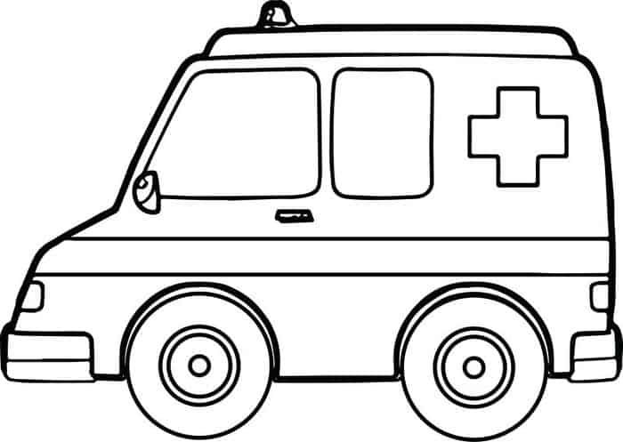 Ambulance Car Coloring Pages Coloring Pages Cars Coloring Pages Sports Coloring Pages Coloring Pages