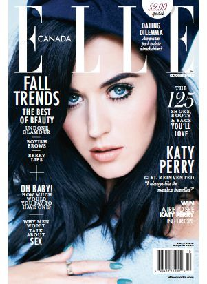 Elle Canada - October 2013 with Katy Perry