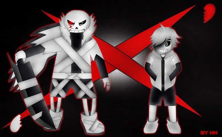 #paint #speedpaint#art#undertale#underverse #sans #chara  This is my first speedpaint video and it's on my channel too ;) if you want to watch it :D.I love cross sans and cross chara so I made a fanart :D