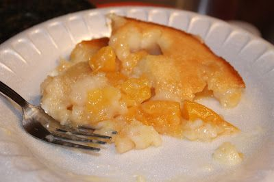 Easy Peach Cobbler - Trisha Yearwood - Georgia Cooking From an Oklahoma Kitchen.