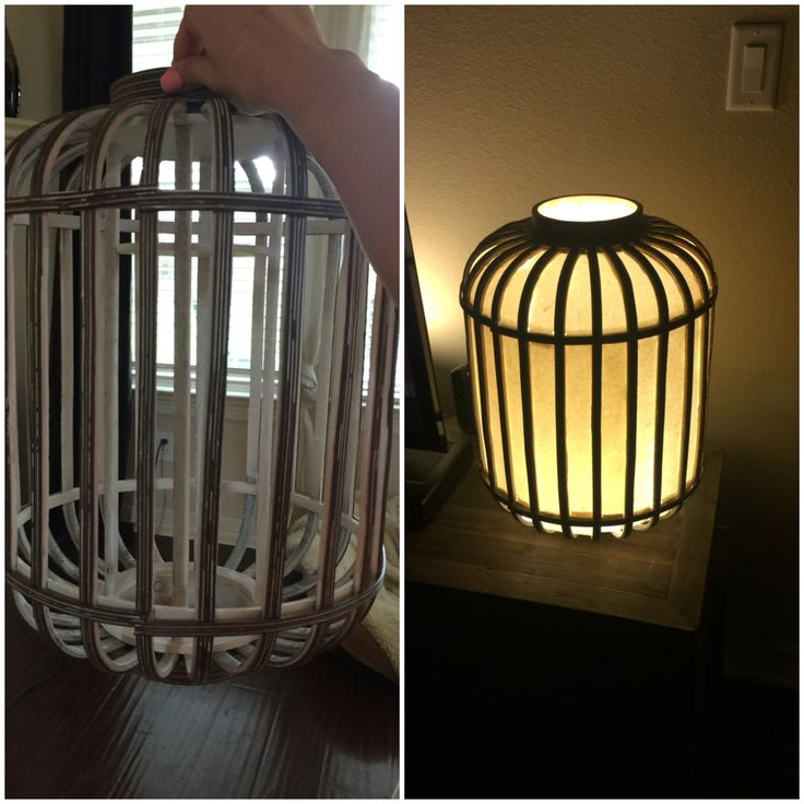 My newest creation.  It looks simple.... Encased in this once lifeless wooden lantern is 72 individually cut strips of canvas secured with silicone and a custom built and newly installed light fixture. Nice little Saturday morning project that tuned into 2 weeks. Totes worth it.
