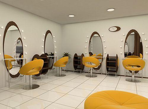 M s de 25 ideas incre bles sobre salones de belleza en for Sillas amarillas comedor