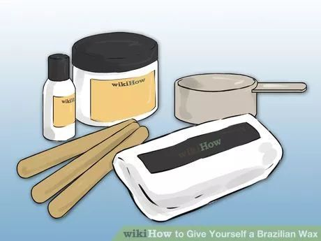Image titled Give Yourself a Brazilian Wax Step 10