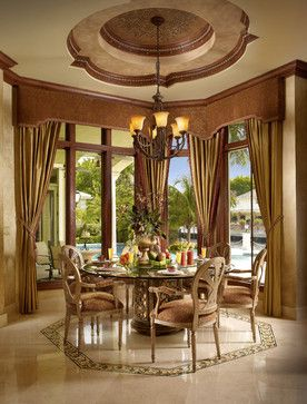Mediterranean Dining Design Ideas, Pictures, Remodel and Decor