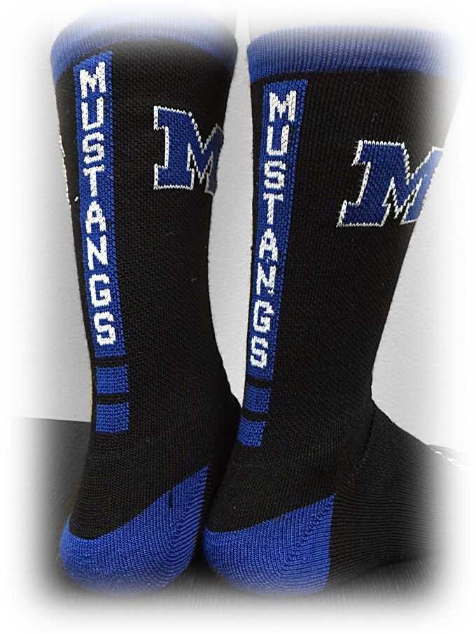 Custom socks great for schools, teams or any organization! Profitable fundraiser options..contact www.sayitgear.com