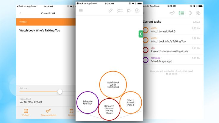 To Round Is a Fun, Bubble-Based Task Manager
