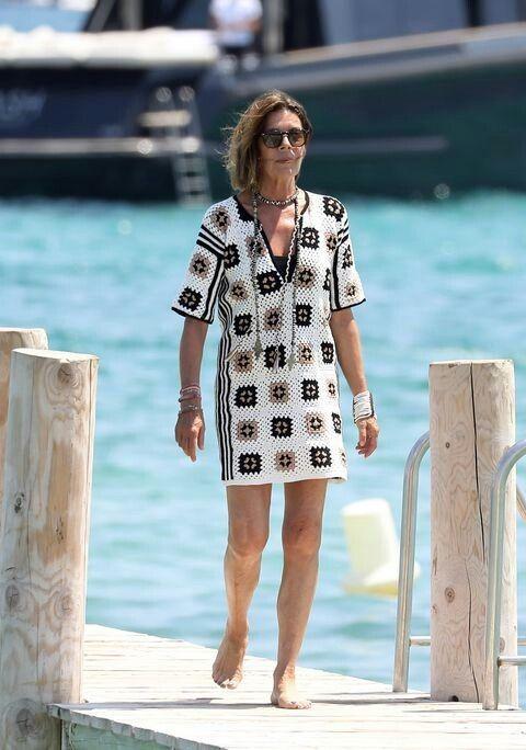 Vestido Mónaco Crochet Carolina Estilo 'courreges' Un Con De trdQhs