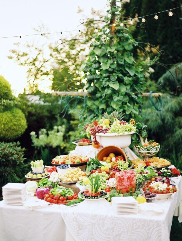 Wedding Philippines - 37 Surprising Fruit And Veggie Wedding Desserts Bar Buffet Display (13)