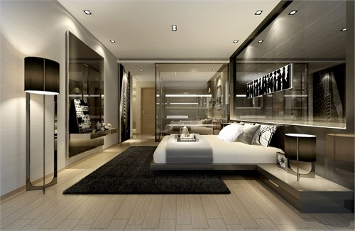 designed by Steve Leung Ltd. #bedroom:
