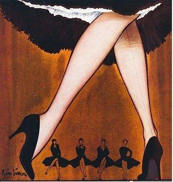 En las clases del tango los profesores hablan mucho sobre el sistema paralelo y…