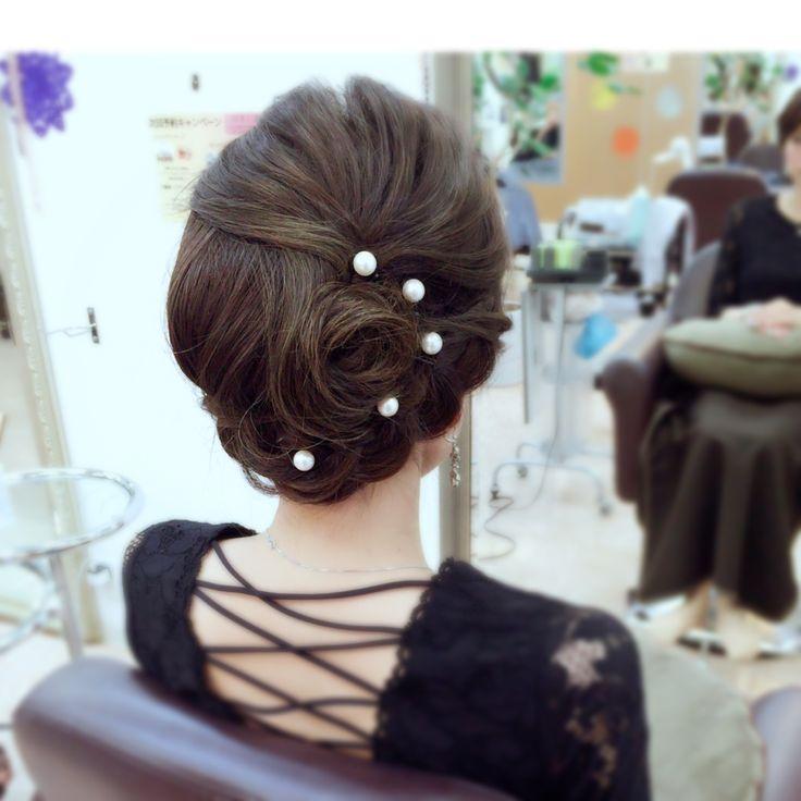 ✨✨✨ 0120-554-202 http://muebe.jp #セット#ヘアセット#アレンジ#ヘアアレンジ#アップスタイル#アップ#まとめ髪#夜会巻き#ルーズ#編み込み#あみこみ#set#hair#bridal#ブライダル#ヘアメイク#ムエベ#MUEBE#浜松#美容室#ムエベトクハシ