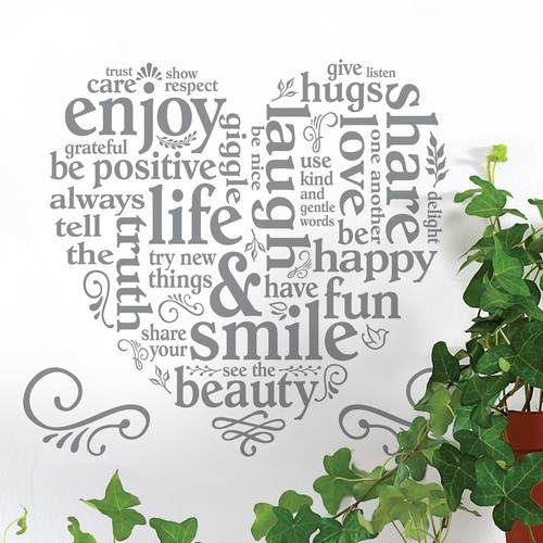 Main street wall creations sentiments wall art decals wall stickers wall